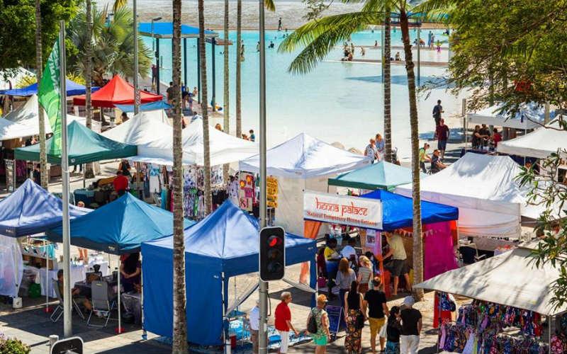 Esplanade Market, Cairns, Queensland, Australia