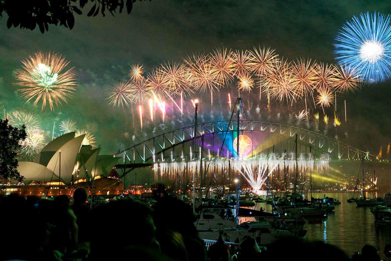 Sydney Harbour fireworks, Sydney