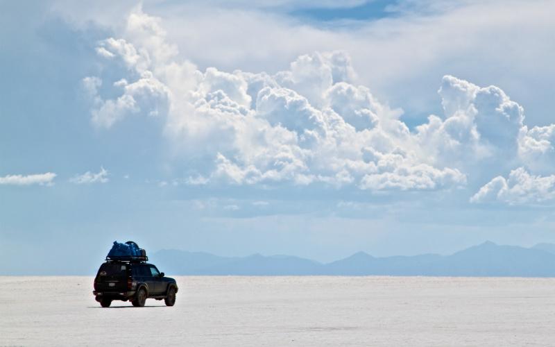 Salar de Uyini, Bolivia