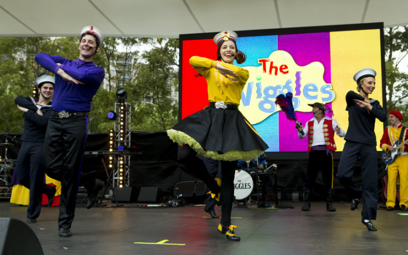 The Wiggles, Tumbalong Park