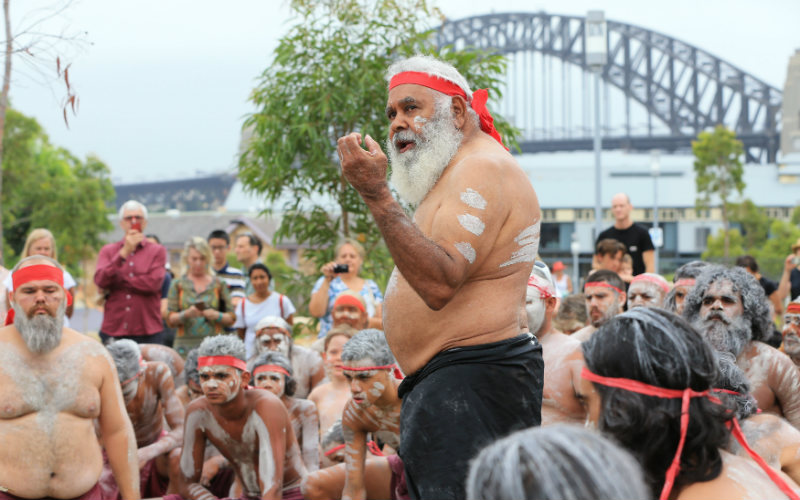 WugulOra Indigenous Morning Ceremony, Barangaroo Reserve