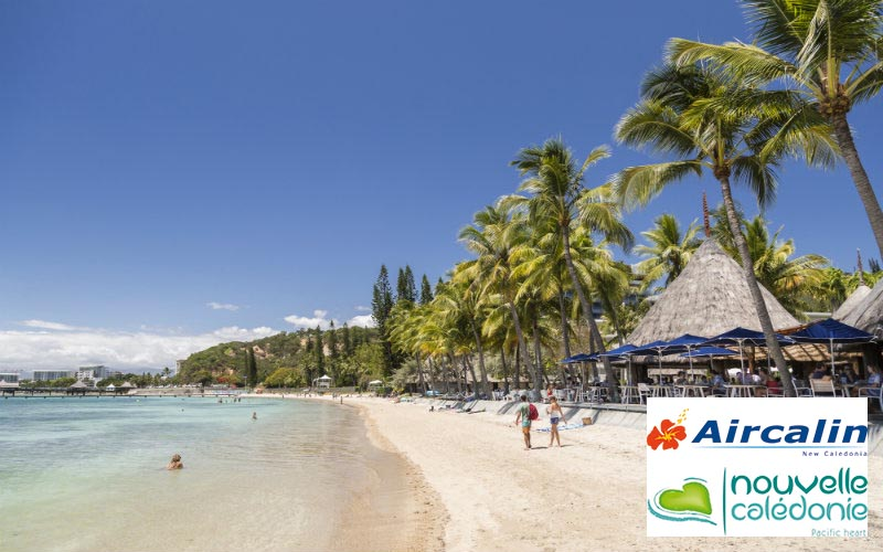 lagoon beach New Caledonia