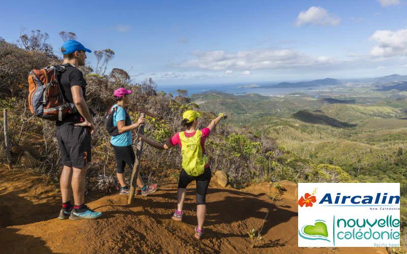 hiking land sports New Caledonia