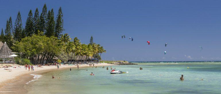 New Caledonia beach