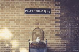 Platform 9 3/4 Kings Cross Station