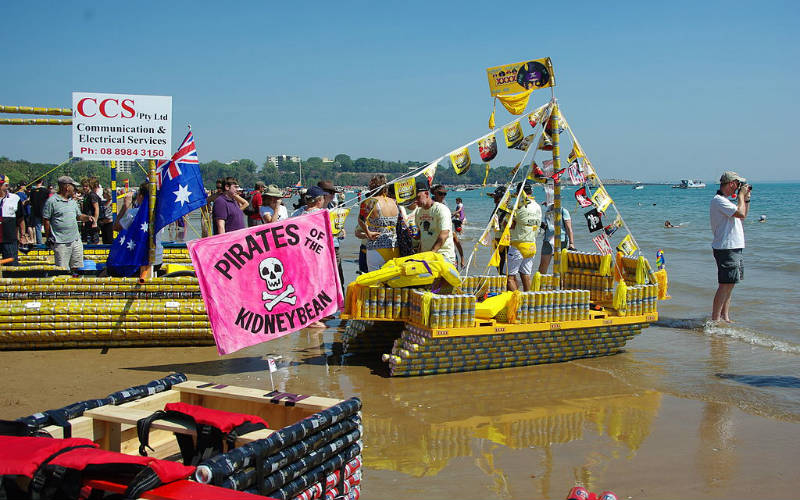 Beer Can Regatta, Australia