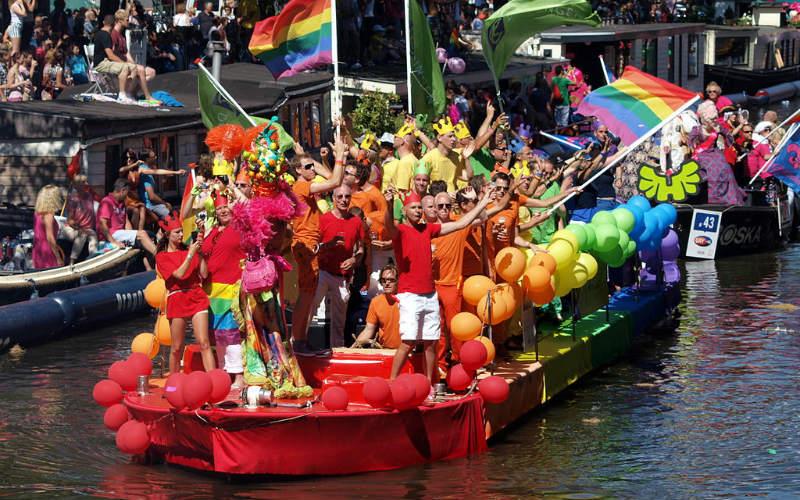 Amsterdam Gay Pride, Amsterdam, the Netherlands