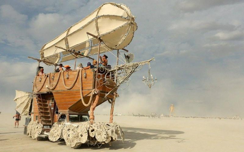 Burning Man Festival, Nevada, USA