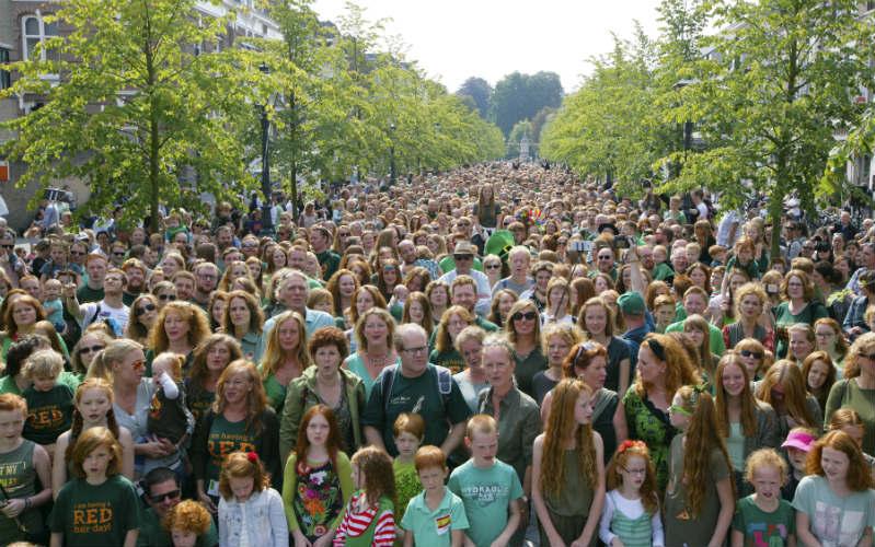 Roodharigendag (Redhead Days), Netherlands