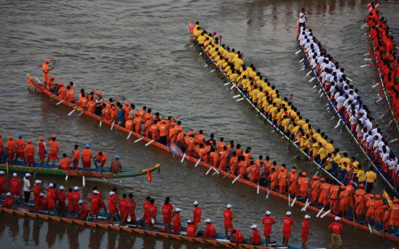 Bon Om Touk (Water Festival), Cambodia
