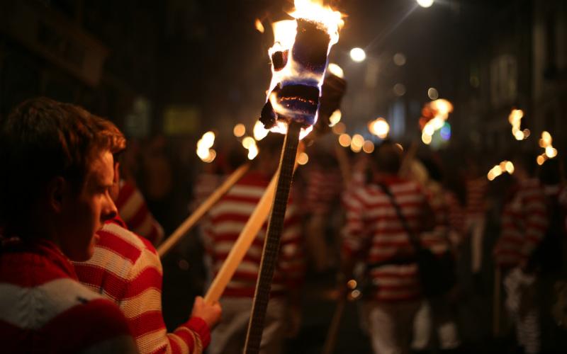 Lewes Bonfire, England