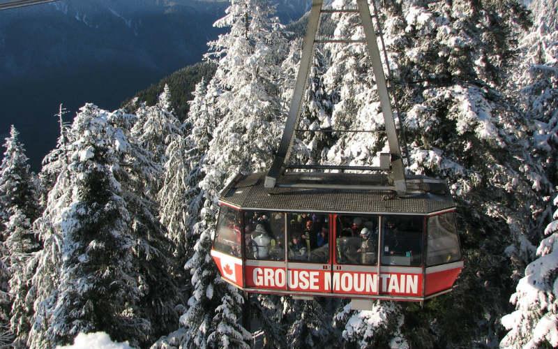 Skyride, Grouse Mountain, Vancouver, Canada