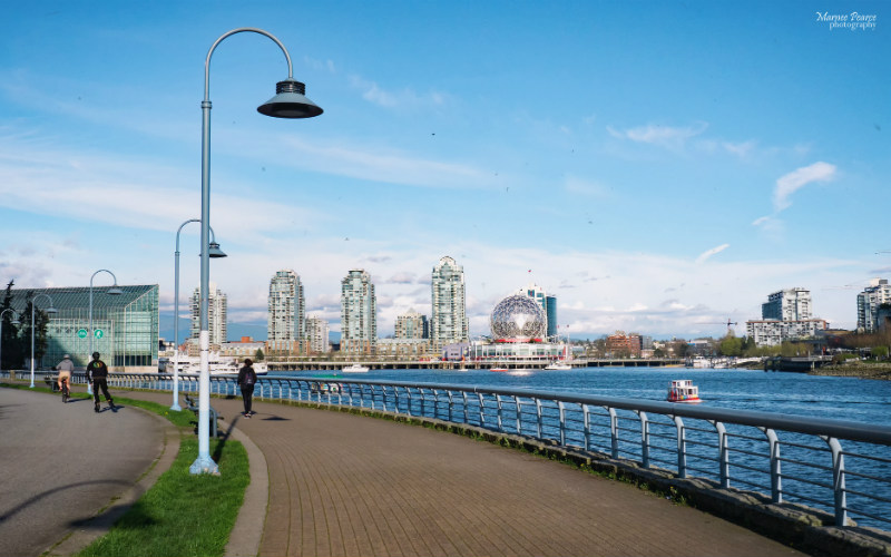 Seawall, Vancouver, Canada