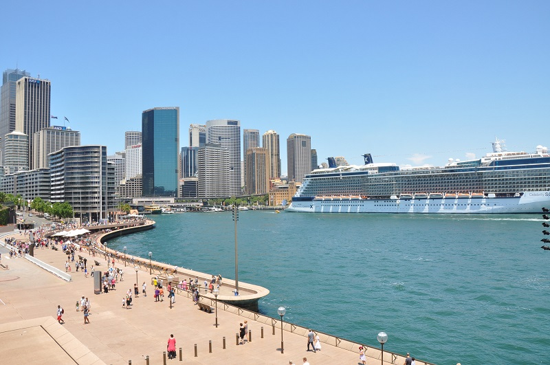 View of Darling Harbour, Sydney