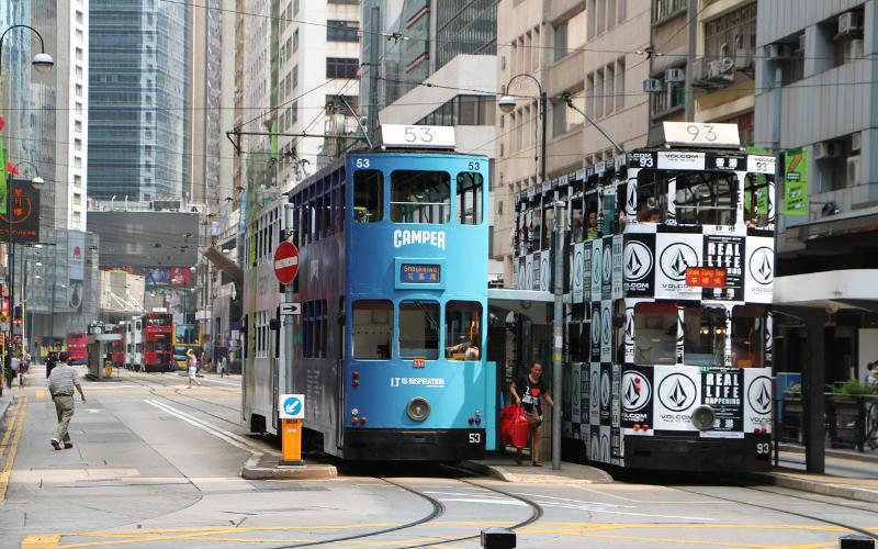 Ding Ding, Hong Kong