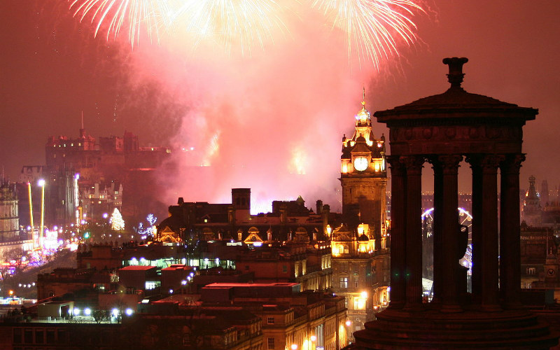 Hogmanay, Edinburgh, Scotland