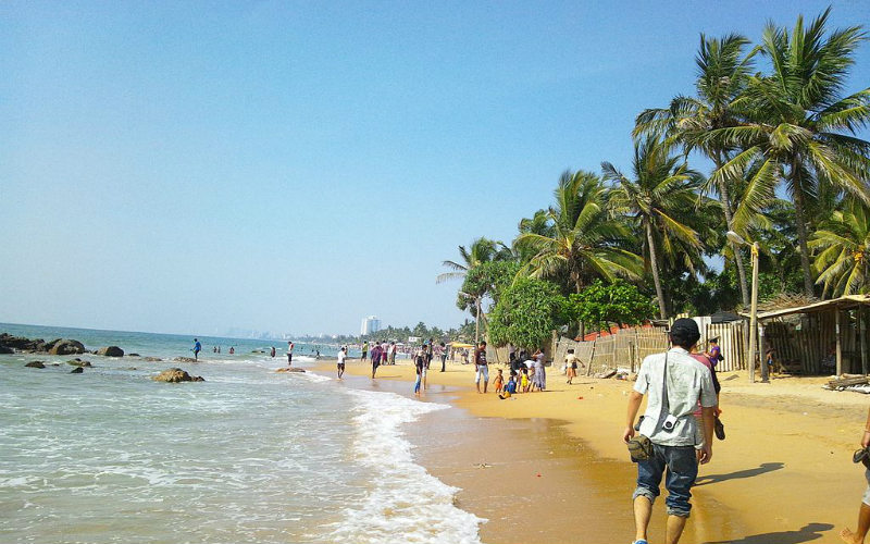 Mount Lavinia Beach, Sri Lanka