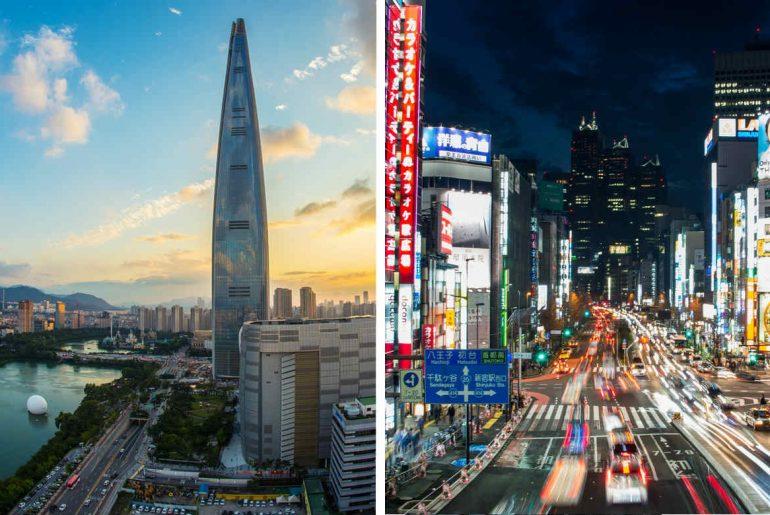 Seoul vs. Tokyo
