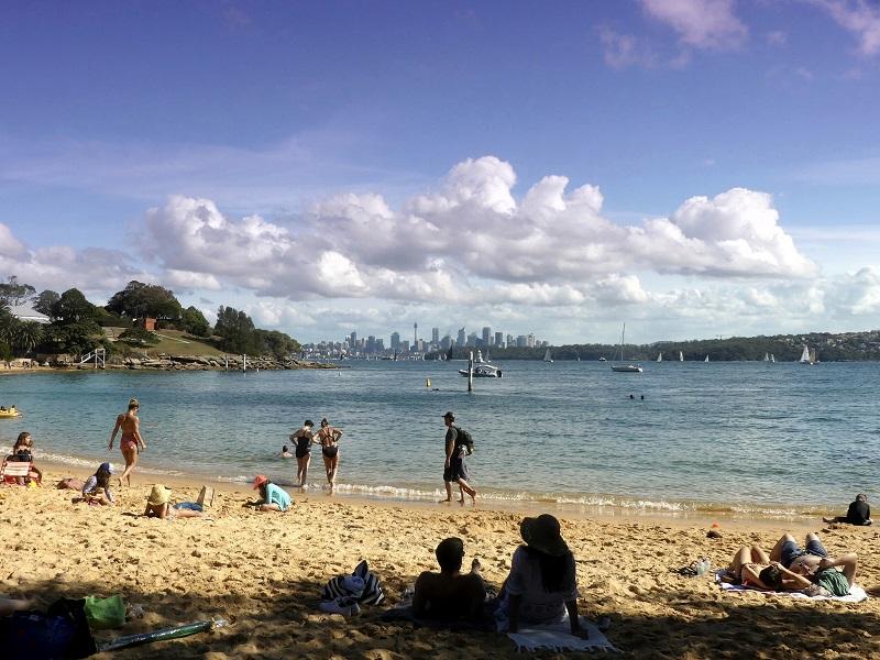 Watsons Bay Beach in Sydney