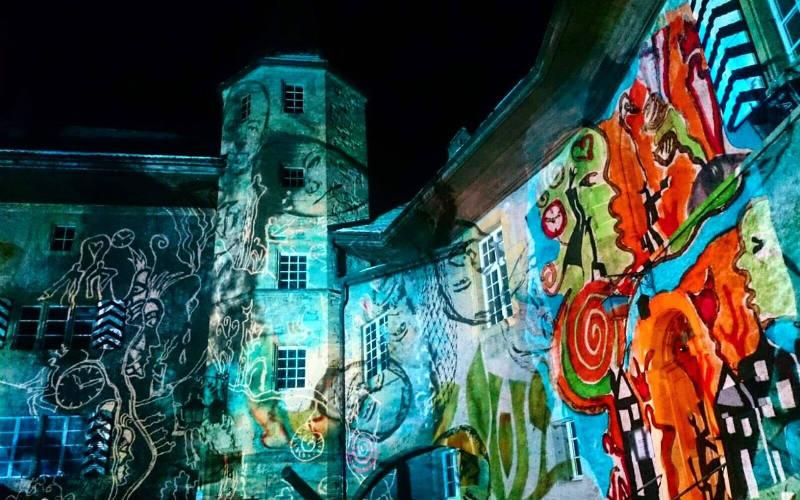 Murten Festival of Lights, Switzerland