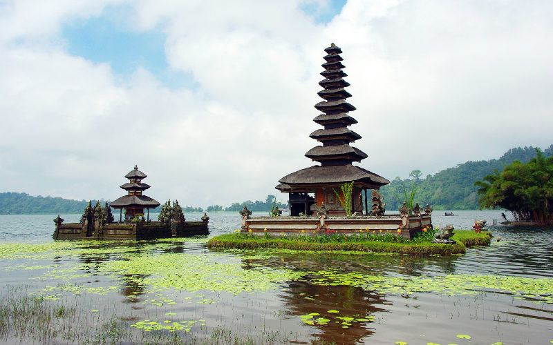 Pura Ulun Danu Berata, Bali, Indonesia