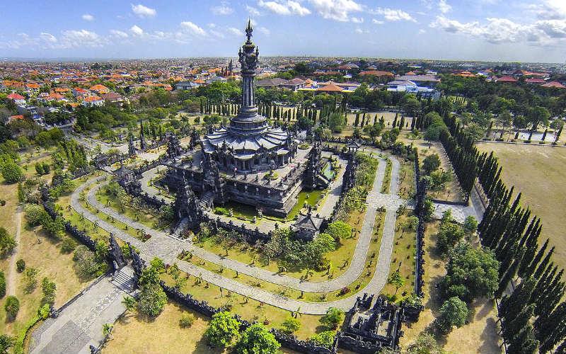 Bajra Sandhi Monument, Denpasar, Bali, Indonesia
