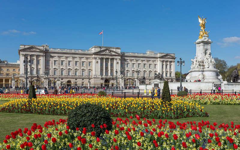 Buckingham Palace, London, England