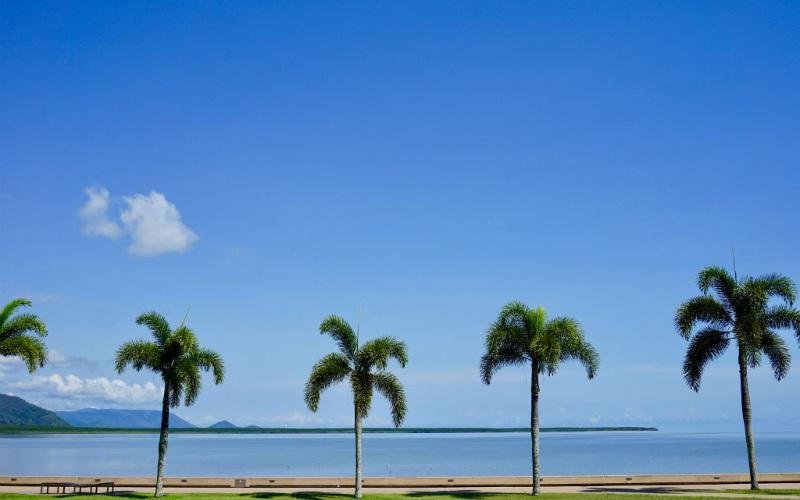 Cairns Esplanade, Cairns, Queensland, Australia