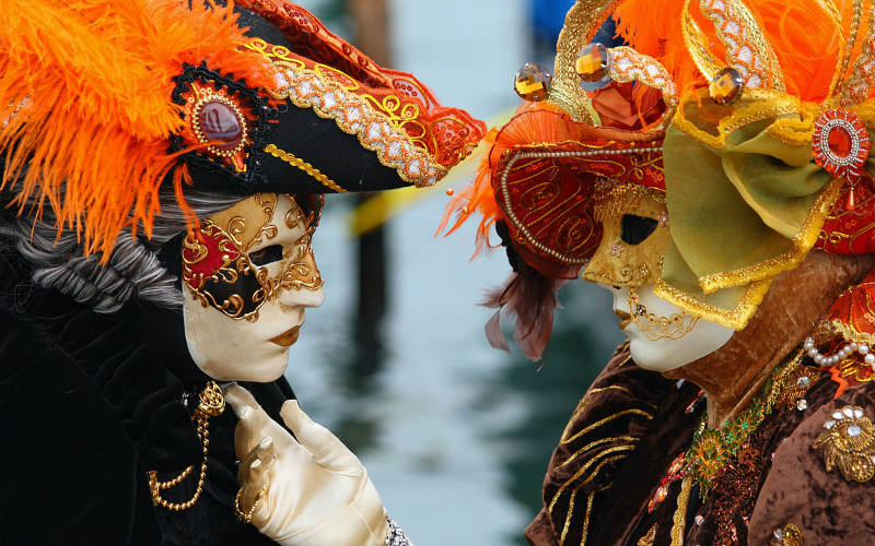 Canival, Venice, Italy