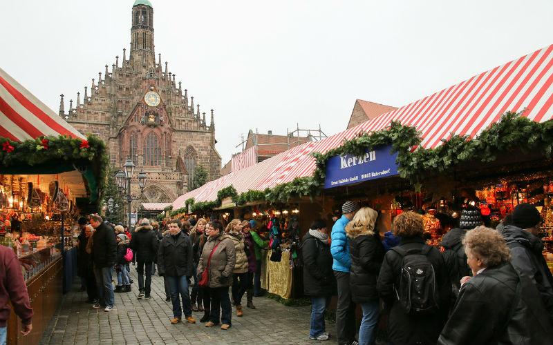 Christkindlesmarkt Nuremberg Christmas Market, Nuremberg, Germany
