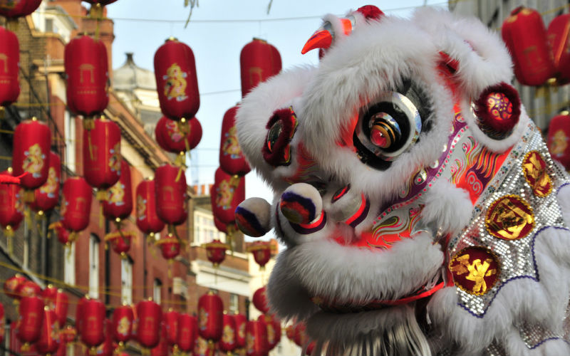 Lunar New Year parade, London, England