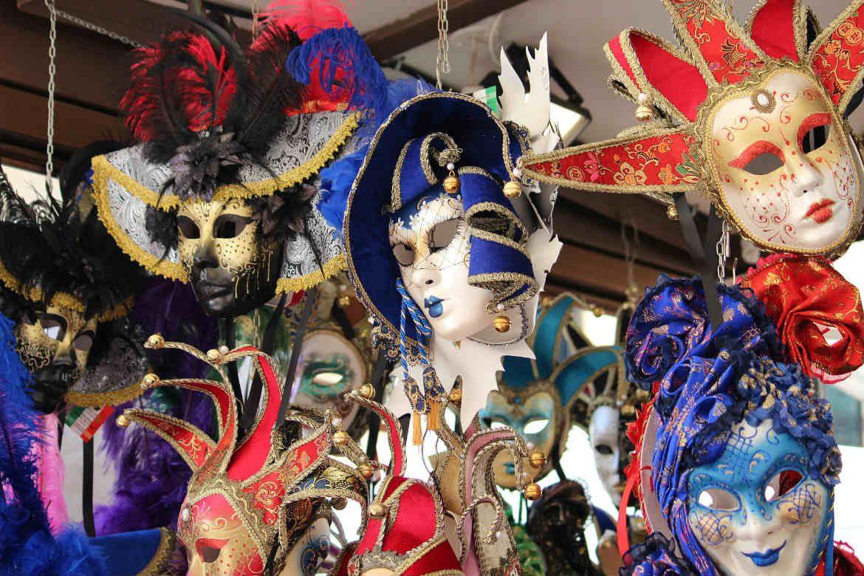 Venetian Masks, Carnival, Venice, Italy