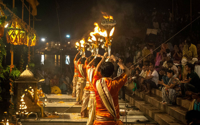 Dashashwamedh Ghat, India