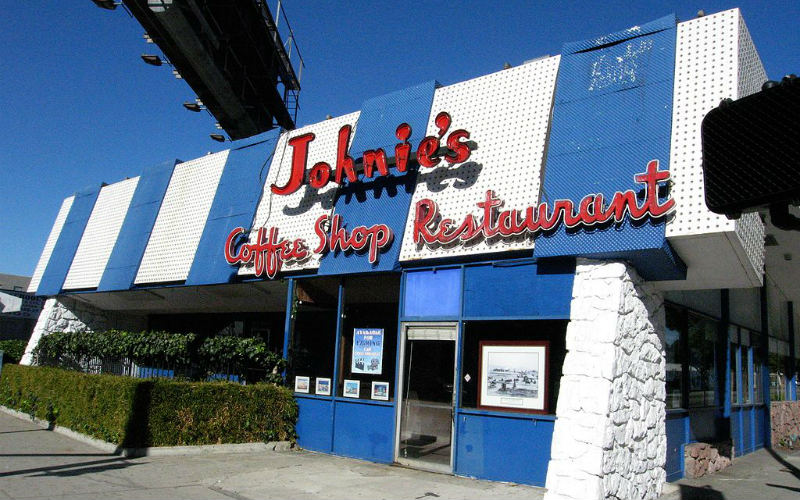 Johnie's Coffee Shop, Los Angeles