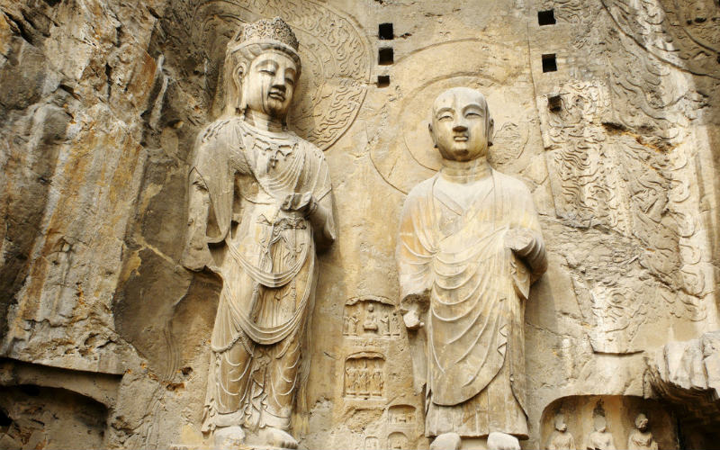 Longmen Grottoes, Henan, China