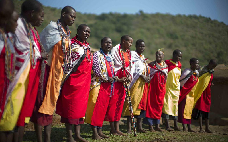 Maasai people Africa