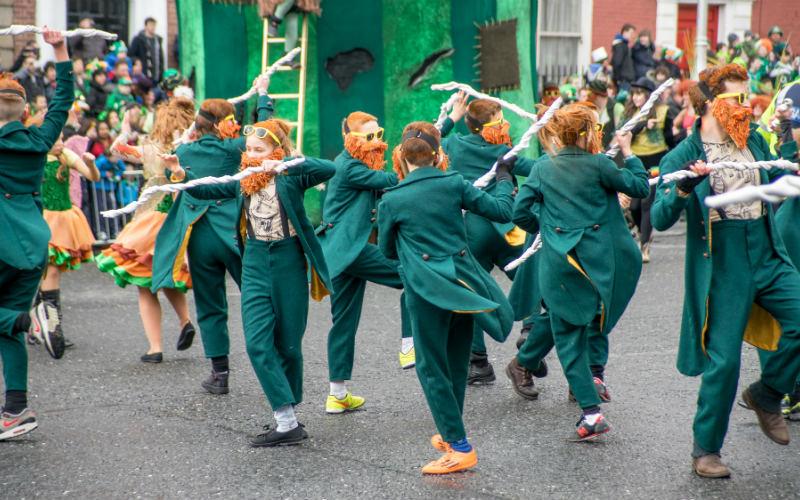 St Patrick's Day, Dublin, Ireland