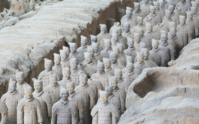 Terracotta Army, Xi'an, China