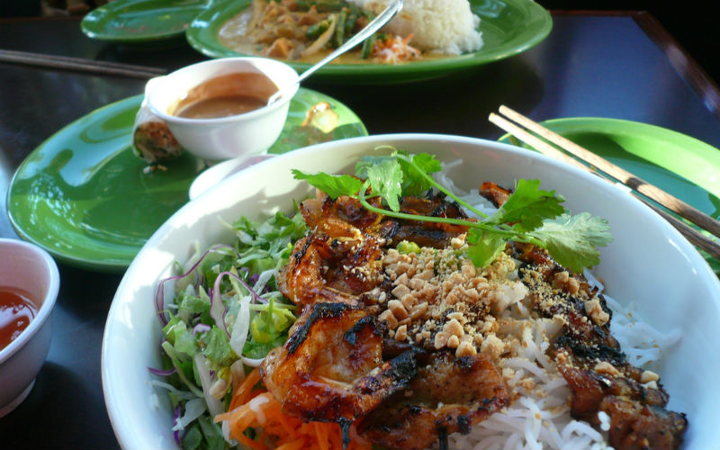 Local Vietnamese cuisine