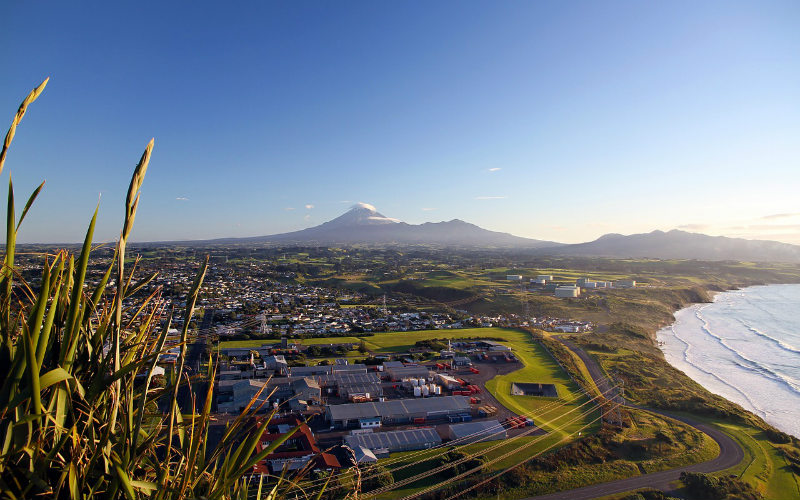 Mount Taranaki, New Plymouth, New Zealand