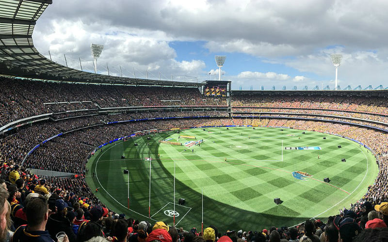 AFL game at the MCG, Melbourne