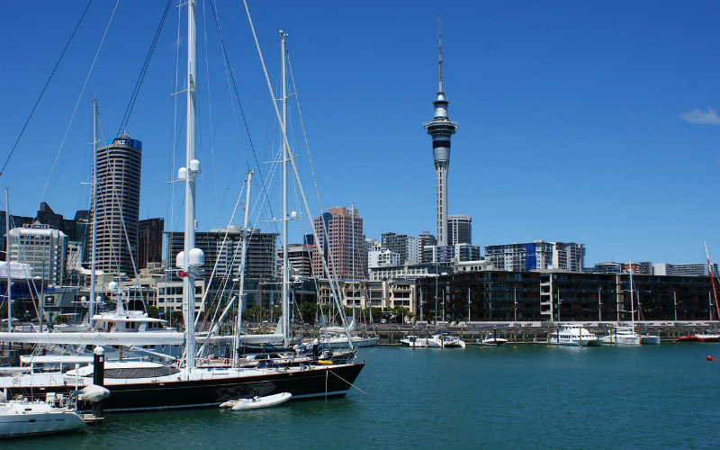 Auckland Harbour, Auckland, New Zealand