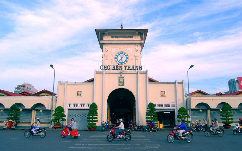 Bến Thành Market, Ho Chi Minh City, Vietnam