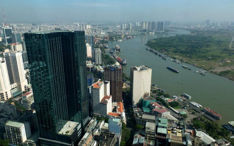 Saigon Skydeck, Ho Chi Minh City, Vietnam