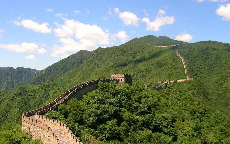 The Great Wall of China at Mutianyu, China