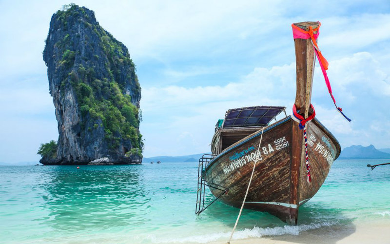 Krabi Railay Beach, Thailand