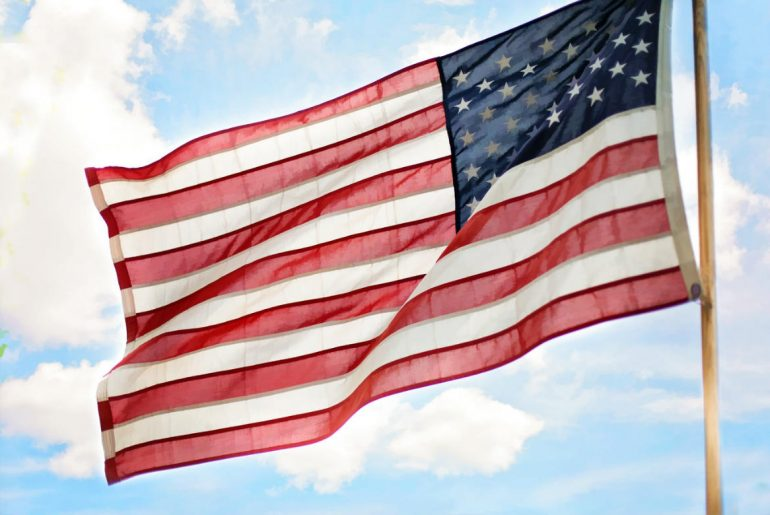 USA United States flag