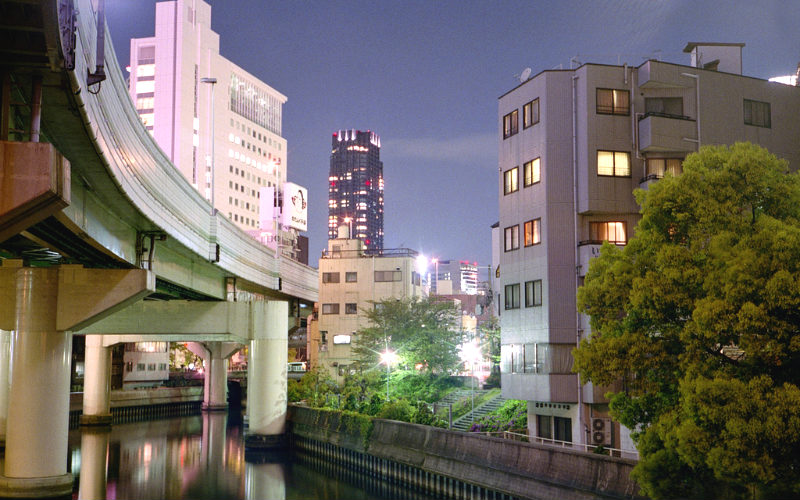 Honmachi, Osaka, Japan