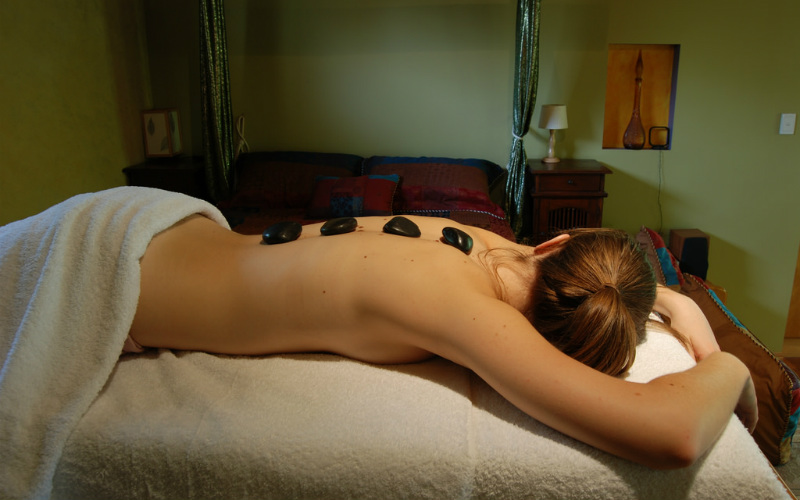 Massage hot stones