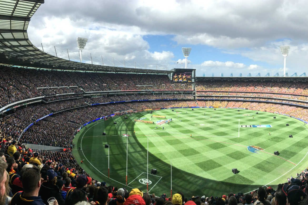 The MCG on Grand Final Day, 2017